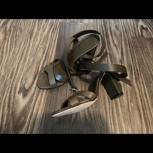 J. Crew Shoes - J.crew leather cross ankle strap sandal